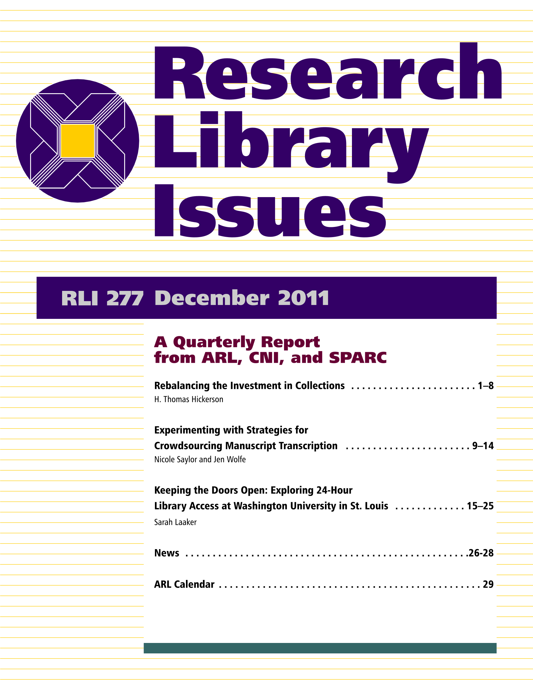 librarian and research paper and issues
